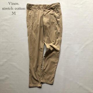 ビンス(Vince)の699ヴィンス ベージュ オールシーズン ストレッチコットンチノパンツ 2M(カジュアルパンツ)