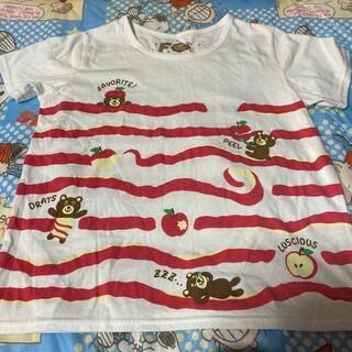 ラフ(rough)のrough りんごTシャツ(Tシャツ(半袖/袖なし))