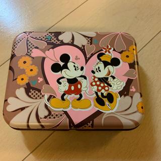 ミッキーマウス(ミッキーマウス)のディズニー  ミッキーマウス&ミニーマウス 空き缶 小物入れ(小物入れ)