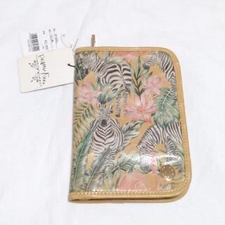 【新品】Primu Fiore パスポートケース イエロー アニマル ボタニカル(旅行用品)