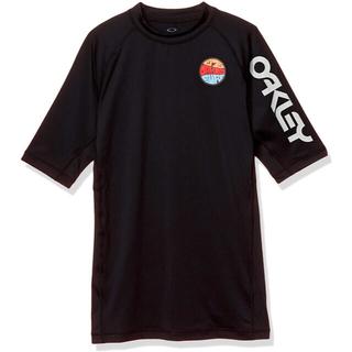 オークリー(Oakley)のOAKLEY オークリー ラッシュガードSS PRESSURE10.0 メンズM(水着)