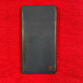 ポーター(PORTER)のPORTER iPhoneケース 手帳型 iPhone 6 Plus ネイビー(iPhoneケース)