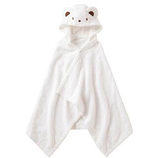 familiar - 【新品未使用】familiar ファミちゃんポンチョ型バスタオル バッグ付き