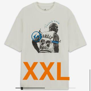 ナイキ(NIKE)のAir Jordan Travis Scott Fragment Tee 2XL(Tシャツ/カットソー(半袖/袖なし))