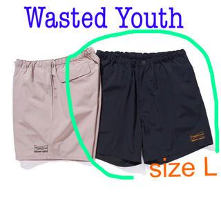 アンディフィーテッド(UNDEFEATED)の新品 希少 size L  Wasted Youth ウエステッドユースショーツ(ショートパンツ)