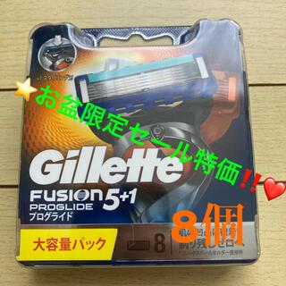 ジレ(gilet)のお盆限定❤️ジレット プログライド フレックスボール マニュアル 替刃8個入(メンズシェーバー)