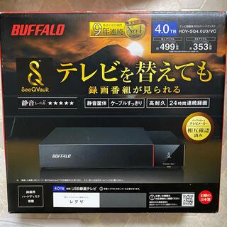 バッファロー(Buffalo)のBUFFALO HDV-SQ4.0U3/VC 4T(その他)