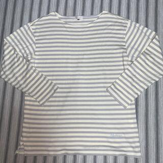 バーバリー(BURBERRY)の未使用 レア 旧ロゴ バーバリー ボーダー長袖Tシャツ M大きめ ロンT(Tシャツ(長袖/七分))
