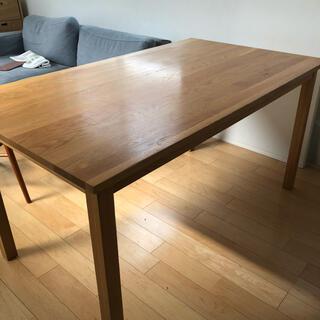 ムジルシリョウヒン(MUJI (無印良品))の無印良品 ダイニングテーブル(ダイニングテーブル)