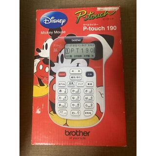 ラベルライター P-touch 190 ミッキー テプラ