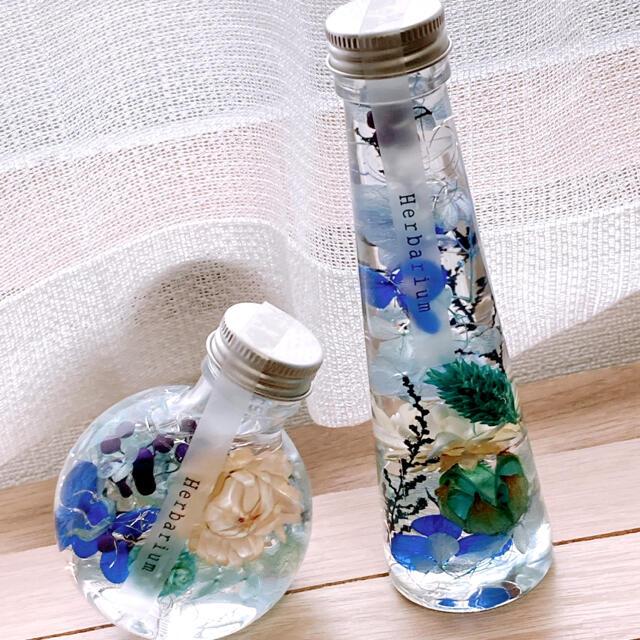 【ニカ様専用】ハーバリウム ハンドメイドのフラワー/ガーデン(ドライフラワー)の商品写真