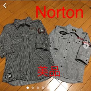 ノートン(Norton)の☆Norton親子コーデシャツ 2枚セット(シャツ)