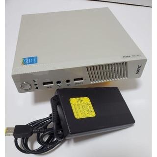 NEC - NEC製 超省スペースPC! 高速Corei5CPU、6GBメモリー搭載限定仕様