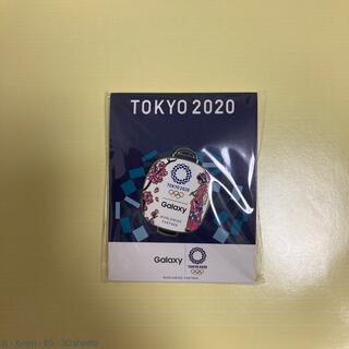 ギャラクシー(Galaxy)の東京オリンピック ピンバッジ Galaxy 桜 着物(ノベルティグッズ)