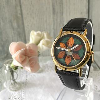 ピエールラニエ(Pierre Lannier)の【動作OK】Pierre Lannier ピエールラニエ 腕時計 ひまわり 限定(腕時計)