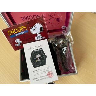 スヌーピー(SNOOPY)のスヌーピー ダイヤモンド使用 腕時計(腕時計)