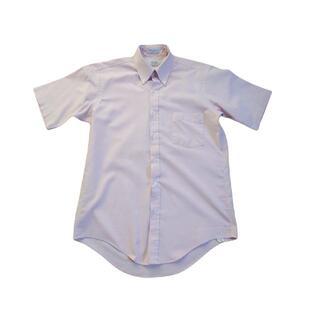 アロー(ARROW)の【USA製】オックスフォード薄ピンクのボタンダウンシャツL(シャツ)