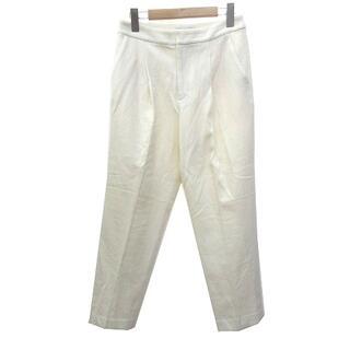 イエナスローブ(IENA SLOBE)のイエナ スローブ 美品 18AW スラックス パンツ テーパード 40(その他)