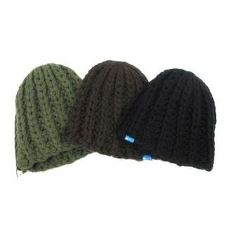 グラビス(gravis)のグラビス 3点セット ニットキャップ 帽子 ビーニー アクリル F 緑 茶 黒(その他)