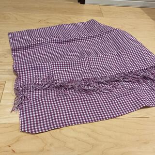 ユニクロ(UNIQLO)のストール 布製(まとめ買いでお安くします)(ストール/パシュミナ)