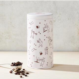 タリーズコーヒー(TULLY'S COFFEE)のTully's Coffee タリーズ 鳥獣戯画 ビーンズキャニスター(日用品/生活雑貨)