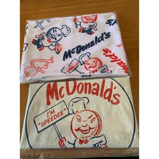 マクドナルド(マクドナルド)のマック 福袋 2021 ビックスマイルバッグ&ひんやりタオル(ノベルティグッズ)