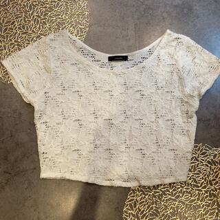 リエンダ(rienda)の白Tシャツ(Tシャツ/カットソー(半袖/袖なし))
