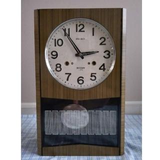SEIKO - セイコー30DAY ゼンマイ式振り子時計