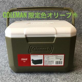 Coleman - コールマン クーラーボックス 4.7L 限定色 オリーブ