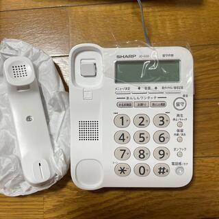 SHARP - シャープ 電話機 親機のみ 新品