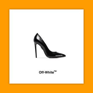 """オフホワイト(OFF-WHITE)のOFF-WHITE オフホワイト """"For Walking"""" 110 パンプス(ハイヒール/パンプス)"""