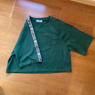 ウィゴー(WEGO)のwego Tシャツ トレーナー 6部?7部?丈(Tシャツ(長袖/七分))