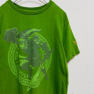 ニンテンドウ(任天堂)の一点物 ゼルダの伝説 ニンテンドー トーキョー 限定 刺繍ロゴ Tシャツ(Tシャツ/カットソー(半袖/袖なし))