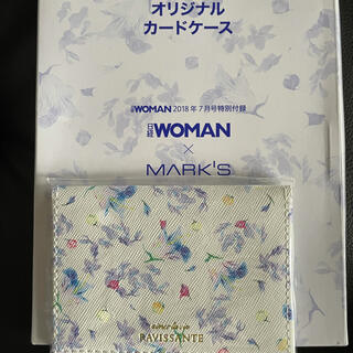 マークス(MARK'S Inc.)の新品 日経woman × MARK'Sカードケース(名刺入れ/定期入れ)