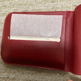 シセイドウ(SHISEIDO (資生堂))のあぶら取り紙 ケース(あぶらとり紙)