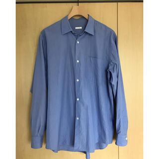 コモリ(COMOLI)のcomoli 20ss コモリシャツ SAX サイズ2(シャツ)