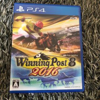 プレイステーション4(PlayStation4)のウイニングポスト8 2016 PS4(家庭用ゲームソフト)