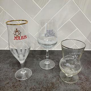 ベルギービールグラス 3点セット(アルコールグッズ)