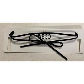 ウィゴー(WEGO)のWEGO チョーカー ブラック(ネックレス)