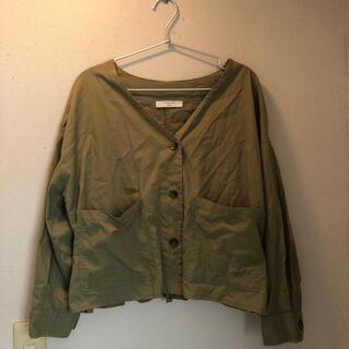 サマンサモスモス(SM2)のS M2*羽織り&ブラウンスカート2点*つんママ様(ノーカラージャケット)
