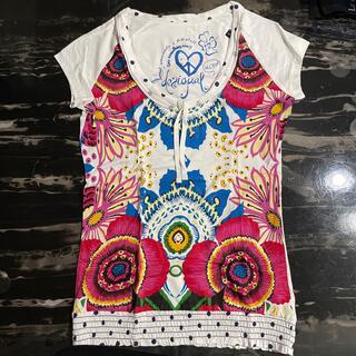 デシグアル(DESIGUAL)のDesigual☆Tシャツ☆Mサイズ(Tシャツ(半袖/袖なし))