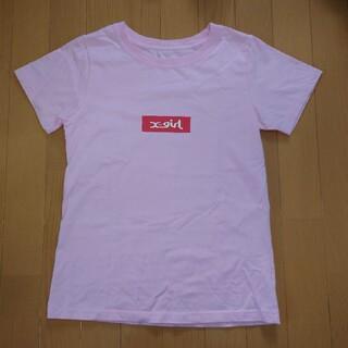 エックスガール(X-girl)の新品未使用!X-girl 半袖Tシャツ(size1)(Tシャツ(半袖/袖なし))