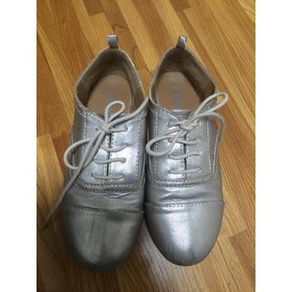 オールドネイビー(Old Navy)のシルバーおじ靴(その他)