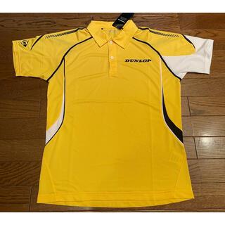 ダンロップ(DUNLOP)のDUNLOP ダンロップ テニス ポロジップシャツ Mサイズ(ウェア)