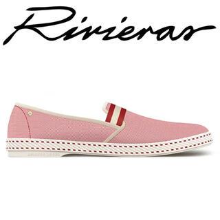 ロンハーマン(Ron Herman)の新品未使用 Rivieras リビエラ COLLEGE BERKELEY 37(スリッポン/モカシン)