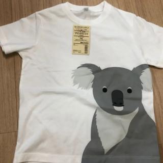 ムジルシリョウヒン(MUJI (無印良品))の新品未使用 無印プリントTシャツ コアラ(Tシャツ/カットソー)