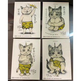 ヒグチユウコ かみなりミニメモ 4冊セット(ノート/メモ帳/ふせん)