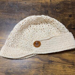 ヴィヴィアンウエストウッド(Vivienne Westwood)のvivien westwood サマーニット帽(ニット帽/ビーニー)