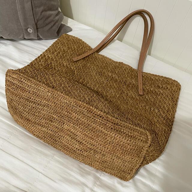 IENA(イエナ)のsans arcidet ラフィアバッグ レディースのバッグ(かごバッグ/ストローバッグ)の商品写真