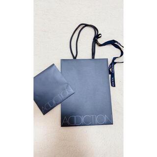 アディクション(ADDICTION)のaddiction ショップ袋 ラッピング 美品 匿名配送(ショップ袋)